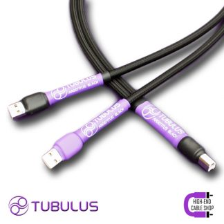 6 High end Cable Shop Tubulus Argentus usb cable dual head V3