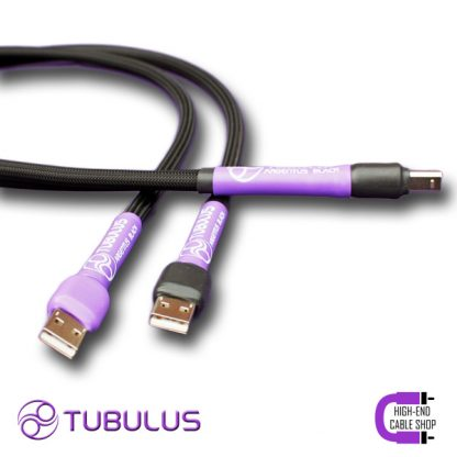 7 High end Cable Shop Tubulus Argentus usb cable dual head V3